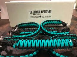 black and turquoise jeep paracord handles veteran offroadveteranoffroad