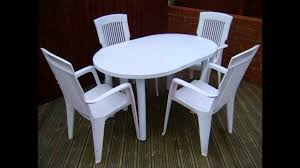 Wooden Table And Chairs Outdoor Outdoor Plastic Table And Chairs Youtube