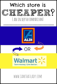 aldi vs walmart which one is really less expensive than the