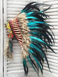 imagenes penachos aztecas penacho indio turquesa 0 disfraces pinterest penacho indio