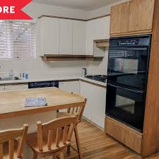 can you paint melamine cabinets white kitchen painted cabinet redo budget kitchen makeover