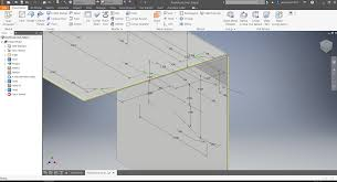 mechanical engineering sheet metal working making a flange