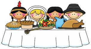 pilgrims indians and the teeth to eat a thanksgiving feast
