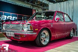 toyota corolla custom event bilsport performance u0026 custom motor show rpm vision