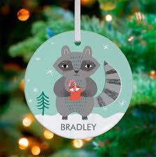 cocoa raccoon ornaments oopsy