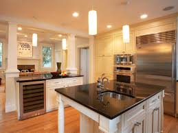 cute white color large kitchen cabinets come with stainless steel