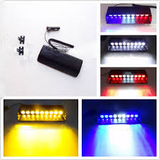 security led lights car 9w led windshield warning light viper car flashing strobe lightbar