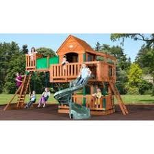 Amazon Backyard Playsets by Swing Sets Redwood Swing Set Swings Slides Family Child U0027s