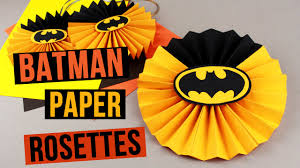 batman party ideas diy batman party decorations paper rosettes