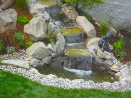 small pond waterfall ideas home decorating inspiration