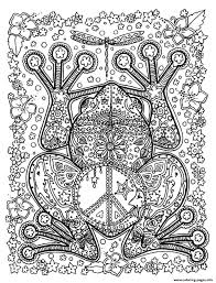 print animals big frog coloring pages to help you cope