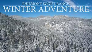 Philmont Scout Ranch Map Philmont Winter Adventure Youtube