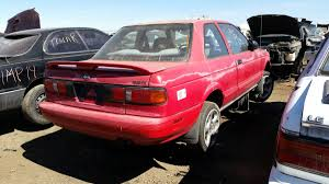 pink nissan sentra junkyard treasure 1991 nissan sentra se r autoweek