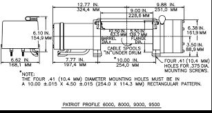 rew 8000 winch wiring diagram rew wiring diagrams collection
