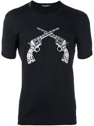 dolce gabbana light blue target dolce and gabbana light blue dolce gabbana pistol patch t shirt