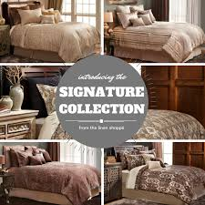new bedding collections from the linen shoppé front door