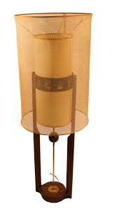 Mid Century Table Lamp Engaging Itemsmid Century Incised Ceramic Table Lamps Signed Mid