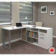 L Shaped White Desk by White Desks U0026 Workstations Costco