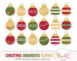 gold clipart ornaments deer