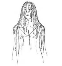 scary horror coloring pages bing images wood burning stencils