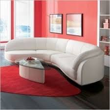 Curved Sectional Sofa Leather Curved Leather Sectional Foter