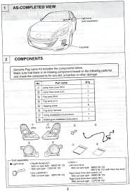 fog lights installation instructions 2004 to 2016 mazda 3 forum