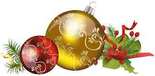 christmas ornament clipart yellow collection