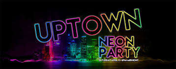 neon party uptown neon block party xtreme park