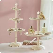 pottery barn inspired tiered jewelry holder tutorial craft