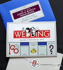 themed invitations pocket monopoly monopoly board themed invitation