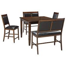 signature design by ashley meredy d395 323 5 piece dining room