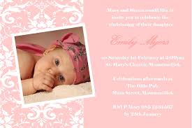 Baptismal Invitation Card Design Personalised Photo Christening Invitations Design 5