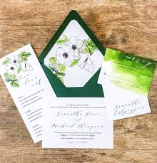 wedding invitations greenery top 10 wedding stationery trends for 2017 letterpress invitations