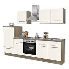 roller einbauküche roller küchenblock wiebke magnolie inklusive e geräte