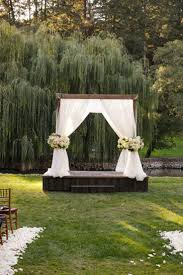 Patio Gazebo Ideas by Best 25 Outdoor Wedding Gazebo Ideas On Pinterest Wedding Jars