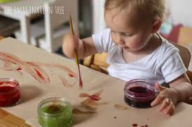 guide to making babysitting fun painting tme with baby