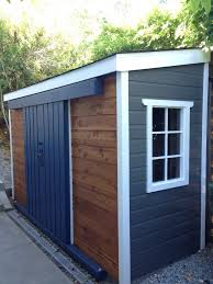 Exterior Shed Doors Enchanting Exterior Sliding Door For Shed Photos Ideas House