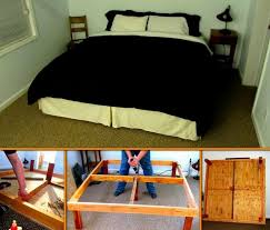 Diy King Size Platform Bed by 37 Best Diy Platform Bed Images On Pinterest Diy Platform Bed