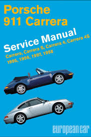 porsche 911 carrera type 993 service manual european car magazine