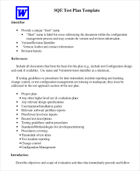 test plan template 11 free word pdf documents download free