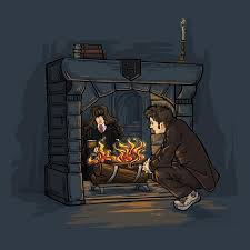 the witch in the fireplace poster once upon a