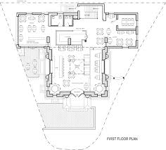 Floor Plan Bank by Beaux Arts Bank Kamen Tall Architects