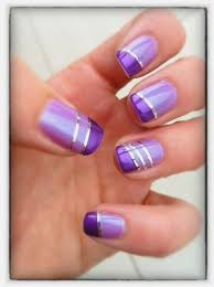 Colors Of Purple Best 25 Purple Nail Designs Ideas On Pinterest Fun Nail Designs