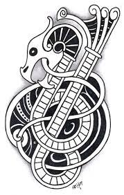 tiger tattoo designs pictures symbolism best 25 viking dragon tattoo ideas on pinterest celtic dragon