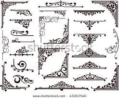 vector floral frames borders corners free vector