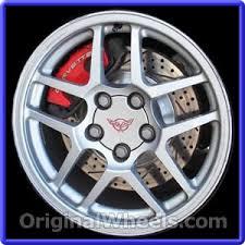 corvette wheels oem 2002 chevrolet corvette rims used factory wheels from