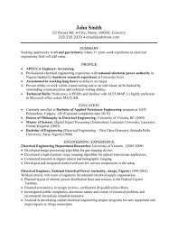 Field Service Engineer Resume Sample Best Ideas Of Oil And Gas Electrical Engineer Resume Sample For