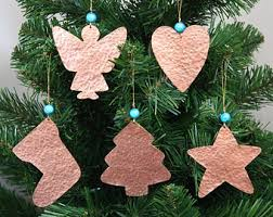 copper christmas ornaments rainforest islands ferry