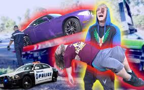 logan paul car logan paul vlogs evan u0027s highway car accident in my car 日常