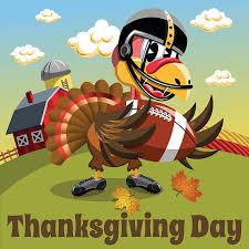thanksgiving football clip vector images illustrations istock